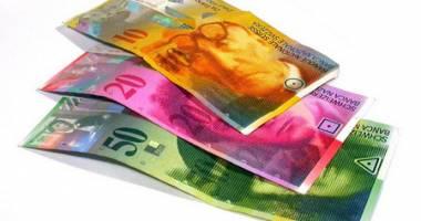 Francul elvețian e mai puternic cu 3,04 bani