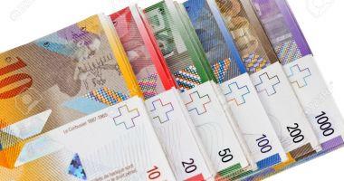 Francul e mai puternic cu 0,10%