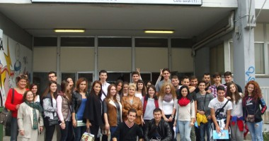 """Elevi de la Liceul """"Callatis"""", în schimb cultural în Italia"""