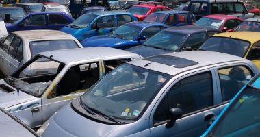 Sute de vehicule abandonate, scoase la licitație de Primăria Constanța