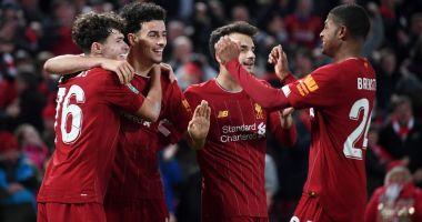 """Ce meci nebun! Liverpool și Arsenal au făcut spectacol pe """"Anfield"""""""