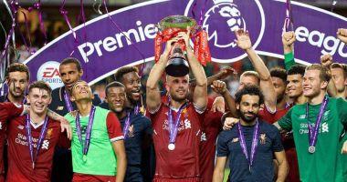 Liverpool, campioană în Premier League după 30 de ani