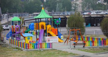 Primăria a transformat locul de joacă din Portul Tomis în zonă de agrement