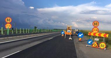 Circulație restricționată pe Autostrada Soarelui din cauza unor lucrări