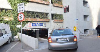 """Lucrări de reparație la """"Parcarea verde"""" din zona Spitalului Clinic Județean"""