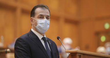 Ludovic Orban: Premierul beneficiază de susţinere totală
