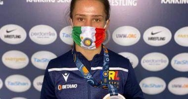 Lupte / Alina Vuc, medaliată cu bronz la turneul de la Roma