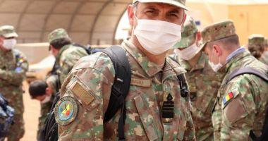 Militari români din Detașamentul Carpathian Pumas au descins în Mali