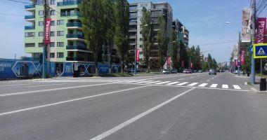 Marcaje rutiere din Constanța, refăcute