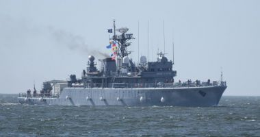 Predarea comenzii Grupării Navale NATO condusă de Forțele Navale Române