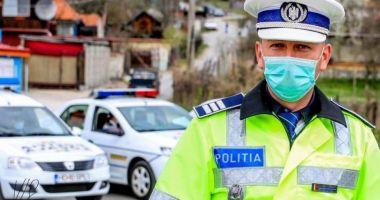 Efective mărite de polițiști, pe străzi.