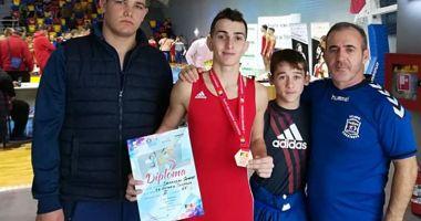 Medalii pentru  luptătorii constănțeni,  la Cupa României