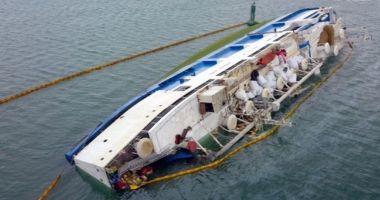 Catastrofa navală din portul Midia. Precizări de ULTIMĂ ORĂ de la Administrația Porturilor