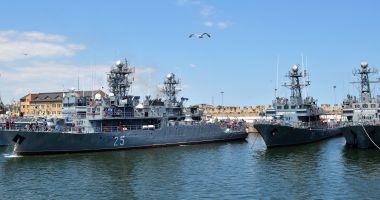 Misiuni NATO în Marea Neagră. Dragorul maritim Locotenent Lupu Dinescu, la datorie