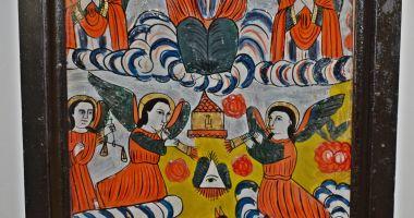 Icoană din centrul de iconari de la Gherla, la Muzeul de Artă Populară
