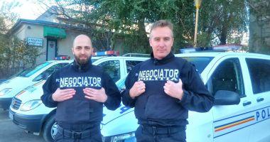 Arta negocierii pentru salvarea de vieți, la început de drum în Poliția Constanța!