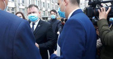 Ministrul Sănătăţii, Nelu Tătaru, în control la spitalele din Constanţa
