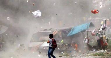 FURTUNĂ UCIGAȘĂ LA PROPRIU! 25 de morți și 400 de răniți