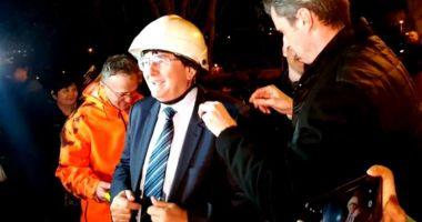 Nicolae Robu a ajuns în presa internațională, după ce a tăiat cablurile din oraș