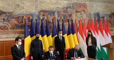 Noi proiecte de colaborare între România și Ungaria