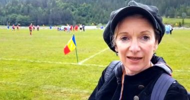 Jurnalistă de la BBC, reportaj despre oina românească