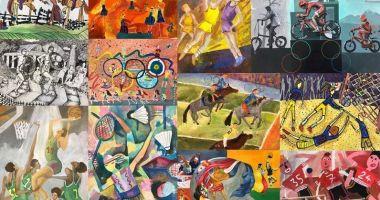 """Olimpism / Concursul naţional """"Jocurile Olimpice în imaginaţia copiilor"""", online"""