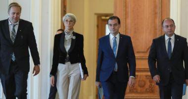 Prima ședință a Guvernului Orban are loc miercuri