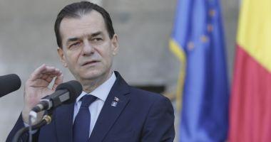 Ce le-a cerut premierul Ludovic Orban ordonatorilor de credite