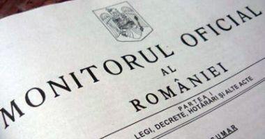 Ordonanța Militară nr. 7, publicată în Monitorul Oficial