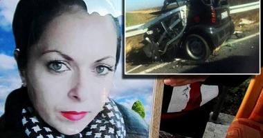 CAZUL CARE A ÎNDURERAT O ȚARĂ ÎNTREAGĂ! O tânără s-a sinucis într-un accident, din cauza soțului drogat și violent. Doi copii au rămas fără mamă