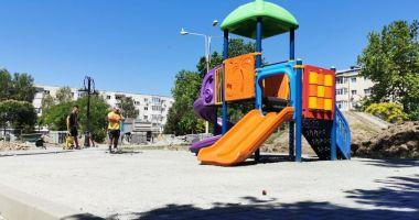 """Parcul """"Dragoslavele"""", complet refăcut de administrația locală din Constanța"""