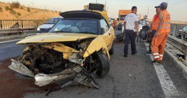 Accident pe Autostrada Soarelui.