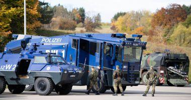 Poliția și armata, amplu exercițiu antiterorist în sud-vestul Germaniei