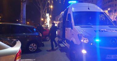 Colet SUSPECT în zona Casa de Cultură! Specialiștii Poliției Constanța, cercetări la fața locului