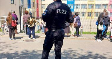 Polițiștii locali, în jurul şcolilor şi grădiniţelor din Constanţa