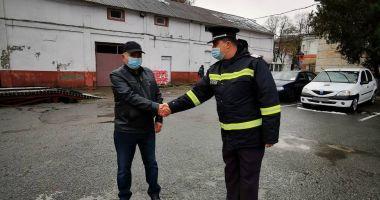 """""""Bomberman-ul"""" de la ISU Dobrogea a ieșit la pensie"""