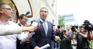 Fostul premier Victor Ponta, audiat