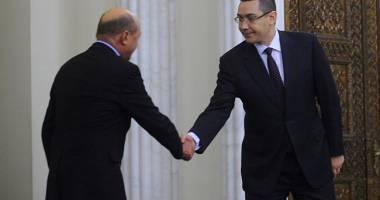 """Băsescu, atac la Iohannis pe tema coabitării cu Victor Ponta: """"Avem o golănie"""""""