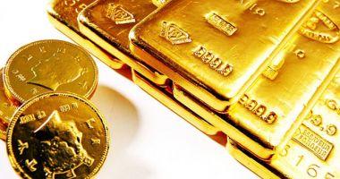 Prețul aurului a scăzut cu 0,85%