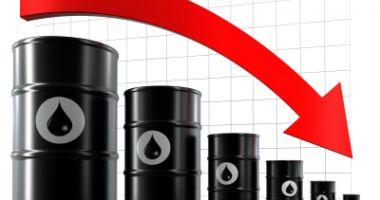Prețul petrolului a coborât la 41,66 dolari pe baril