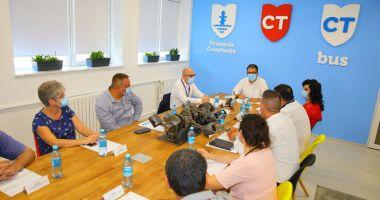 Primarul Decebal Făgădău, planuri mari pentru CT Bus
