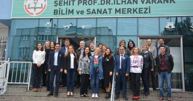 """Profesorii de la Colegiul """"Eminescu"""", schimb de experiență cu cei din Turcia"""