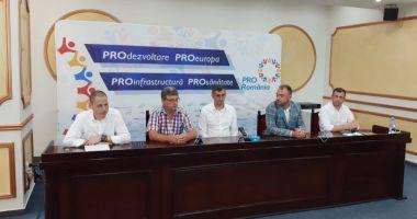 Pro România și-a prezentat candidații la Eforie, Comana și Băneasa