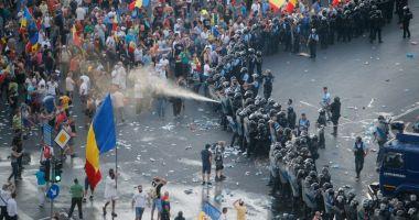 Un europarlamentar PSD propune amenzi de 15.000 de euro pentru protestatarii agresivi