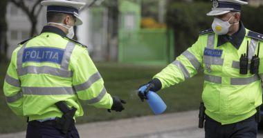 Acțiuni pentru prevenirea și limitarea răspândirii coronavirusului, realizate de polițiștii constănțeni