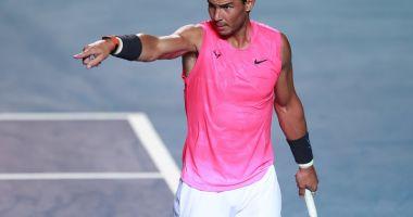 Rafael Nadal, forfait pentru turneul de la Acapulco