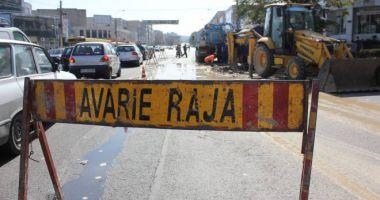 Atenţie, constănţeni! Trafic îngreunat pe bulevardul Brătianu. Se lucrează la conductele de apă