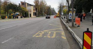 Șoferi, atenție la parcări! Lucrări de modernizare pe bulevardul Tomis