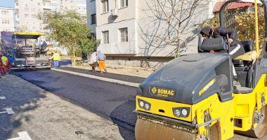 Trama stradală din orașul Constanța este reabilitată