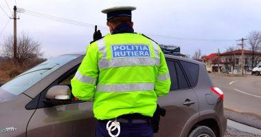 Șoferi fără permis sau beți, sancționați aspru de Poliția Rutieră